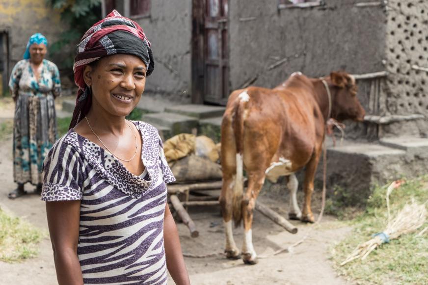 Erfolgreiche Jungunternehmerin aus Äthiopien