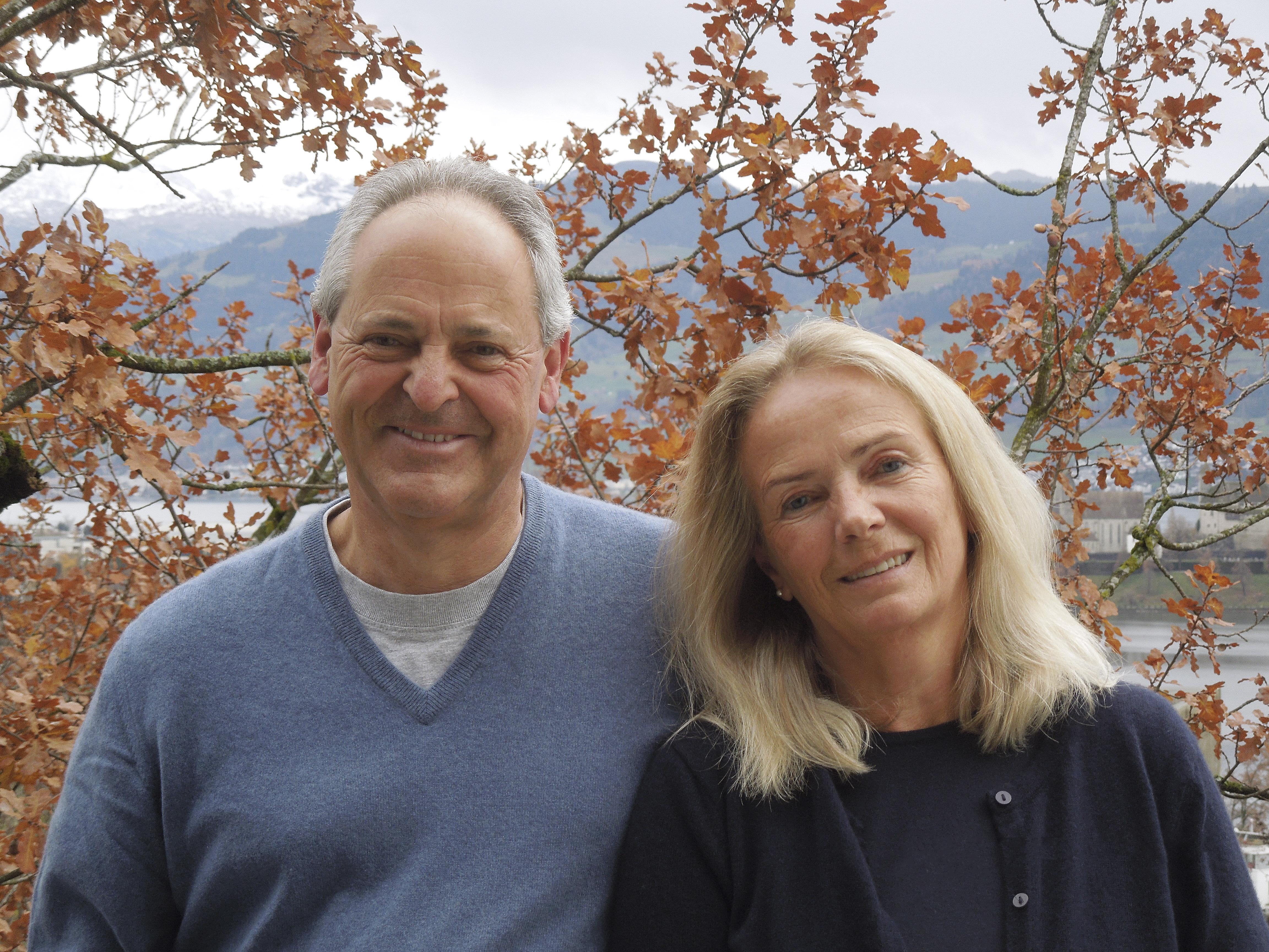 Ehrenmitgliedschaft — Marta und Ueli Jud