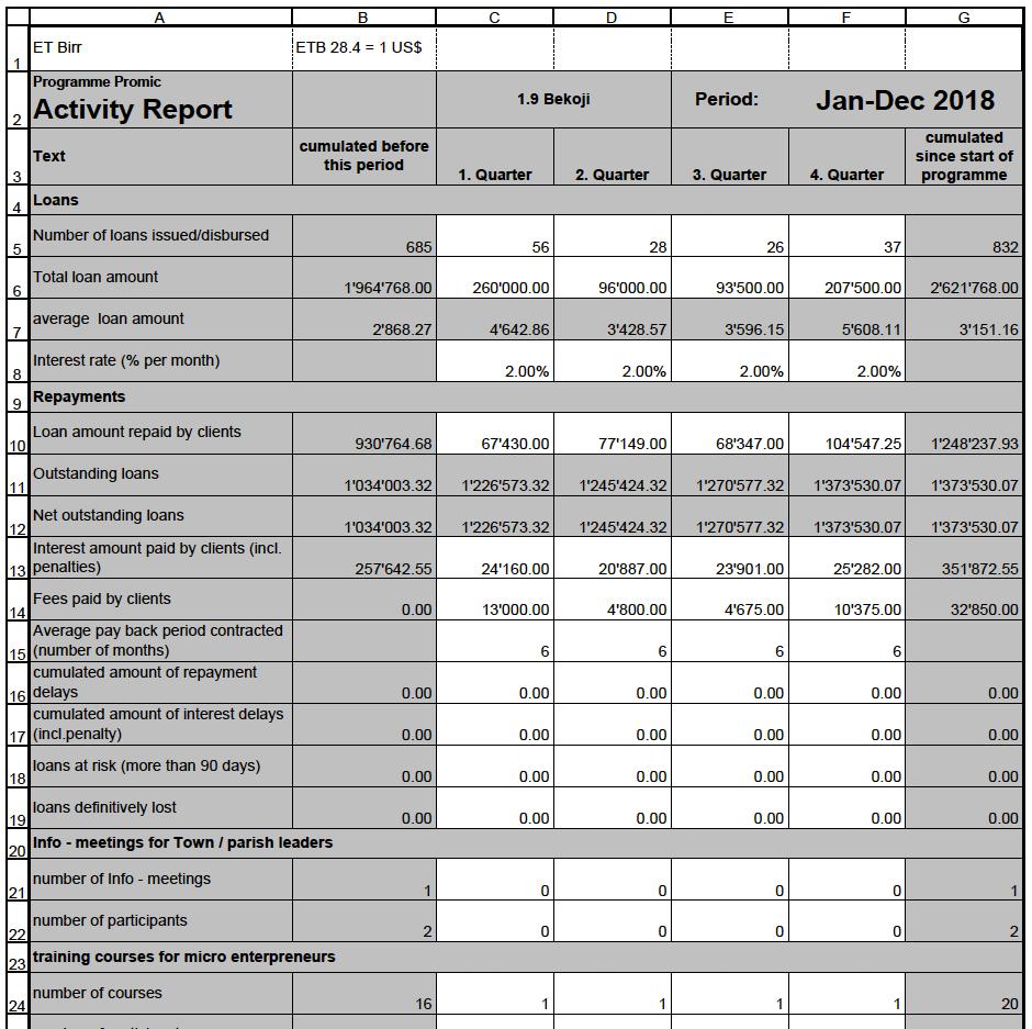 Swisshand analysiert den Spendeneinsatz intensiv